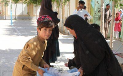 Literacy program for widows in Sharak-e Mustafa